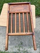 Vintage Antique National Washboard Co 801 - Very Nice Wash Board
