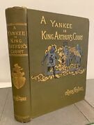 First Edition A Connecticut Yankee In King Arthurand039s Court 1889 1st Mark Twain