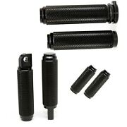 Motorcycle Grips Pegs Combo For Harley Davidson - Custom Builds