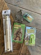 Bigfoot Package. Tree Knocker, Soap, Cookie Cutter, Awesome Sound Machine More