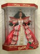 Rare Holiday 10th Anniversary Special Edition 1997 Barbie Doll Mint Ships Free