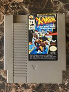 The Uncanny X-men Nes Nintendo Authentic Tested And Working Marvel Cleaned
