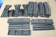 American Flyer S Gauge 17 Curve 8 Straight 3 Manual Switches With Roadbed Jb