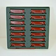 Nos Deluxe Innovations Conrail N Scale Twin Tub Coal Gondola Cars With Load