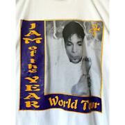 The 90s Tour T-shirt Rare Size Xl White Used Vintage Free Shipping Japan