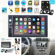 7inch 2 Din Car Mp5 Player Bluetooth Touch Screen Stereo Radio Hd+rear Camera