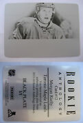 2013-14 Panini Rookie Anthology 12 Morgan Rielly 1/1 Black Plate Nt 1 Of 1 Rc