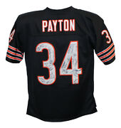 1985 Chicago Bears Team Signed Pro Style Walter Payton Xl Jersey 28 Sigs 29893