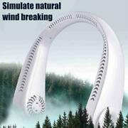 Portable Fan Bladeless Lazy Neck Hanging Cooler Usb Rechargeable Hot Sale