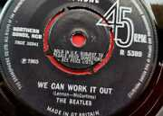 New Discovery Label We Can Work It Out Day Tripper The Beatles Parlophone R5389