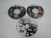 Grand Theft Auto Iii And Iv 3 Disc Lot Video Game Pc Cd-rom Gta 4 Windows