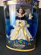 Disney Holiday Princess Snow White Doll - Limited Holiday Edition