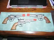 3 Toy Cap Guns - Pair Of Legends Of The Wild West And 1 Imperial Toy - See Descrip