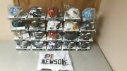 20 Signed Autographed Football Mini Helmets And 1jersey Lot