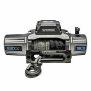 Superwinch 1710201 Winches Winch 10,000 Lbs. 12 Vdc 3/8 X 80 Ft. Synthetic Rope