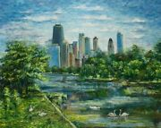 Chicago. Oil On Canvas