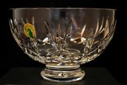 Waterford Crystal Bowl Jim Oand039 Leary Anniversary Collection 1995