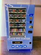 Ppe/snack Vending Machine Fully Stocked + Touch Screen Card Reader + Led Lights