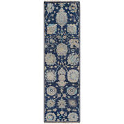 Surya Tho3007-268 Theodora Area Rug Navy/taupe/light Gray/teal/ivory/butter