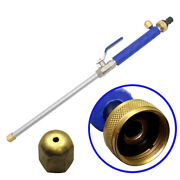High Pressure Power Washer Spray Nozzle New Water Hose Wand Attachment