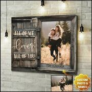 Custom Canvas Prints Personalized Gifts For Wedding Anniversary Birthday All O