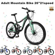 Adult Mountain Bike 26and039and03921-speed Surpassing Frontrear Discbrakes Multiple Colour