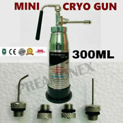 Mini Cryo Empty Can N2o 300 Ml Cryo Spray With 4 Nozzles Therapy Unit Hp1
