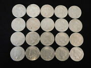 1922 P-d-s Peace Silver Dollars Roll Of 20 Coins Vf-xf 90 Silver L3