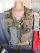 1993 Modified Aircrew Pilot Alse Survival Flight Vest With Stabo Harness