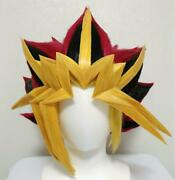 Yu-gi-oh Duel Monsters Cosplay Wig Used Hand Made By Amateur Free Shipping Jp