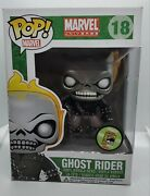 Funko Ghost Rider Metallic Sdcc 2013 Please See Photos Not Mint Rare Grail Dc
