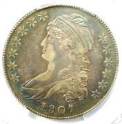 1807 Capped Bust Half Dollar 50c Coin O-112 - Certified Pcgs Xf Details Ef