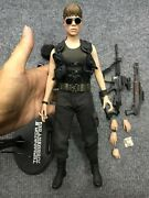 1/6 Hot Toys Mms119 Terminator T2 T800 Sarah Connor For Action Figure