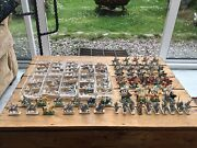 Huge Lot Of 25mm / 30mm Medieval Knights On Horse Etc Lead Soldiers Figures 456