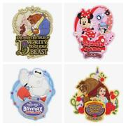Tokyo Disneyland New Area Magnet 4 Pieces New Fantasyland Minnie Mouse Bell