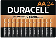 New Duracell® Coppertop Alkaline Aa Pack Of 24 Batteries 1500b240001