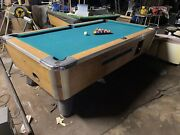 Commercial Coin Operated Pool Table Valley