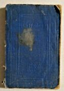 Antique 1878 New Testament By New York American Bible Society -- 4921