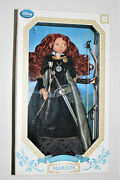 Disney Store Limited Edition Brave Merida Doll 17 Inch-new In Box-17000