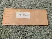 A Harry Moore Autographed Signed Cut 39th New Jersey Governor