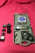 Pet Grooming Clippers W/6 Attachments/scissors/ Dvd/case -andis Model Ma-1