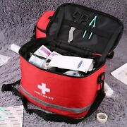 Military First Aid Survival Kit Case Emergency Medical Equipment Bag Outdoor