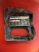 Ford Cowl Data Body Plate Paint Trim Code Tag