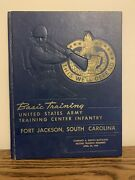 Vtg 1959 Basic Training Us Army Yearbook Fort Jackson Sc Company A 8th Battalion
