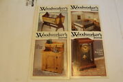 Large Lor Of Woodworking Magazines Woodworkers Journal