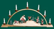 Candle Arches With Elks Seiffen Erzgebige Christmas Norway Norge New