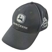 John Deere Hat - Gray/silver E-series Cap - Adjustable One Size Fits All
