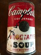 Andy Warhol- Rare Signed Vintage Campbell's Soup Can