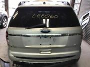 2011-2014 Ford Explorer Trunk/hatch/tailgate White 2731923