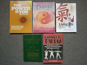 Tai Chi, Qi Gong Lot, Stepen T Chang, Geoff And Phyllis Pike, Alfred Huang - Etc
